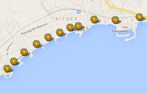 googlekaart-stranden