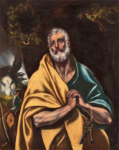 lagrimas de Sant Pere van El Greco