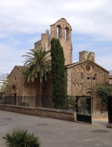 kerk Sant Pau exterieur