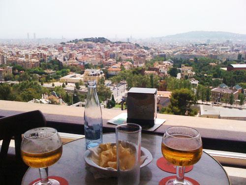 Uitzicht vanaf Mirablau.