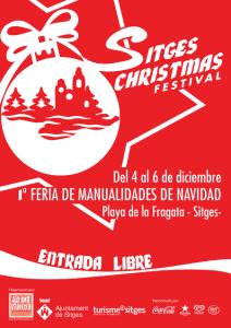 christmas festival ; hobbybeurs in Sitges