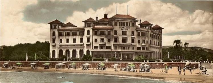 het oude Terramar hotel