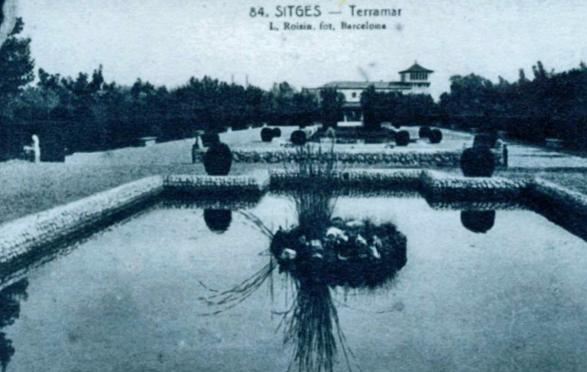Het Terramar-park in de oude situatie.