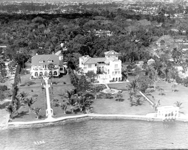 oude villa's in Miami